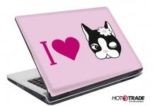Laptop Notebook Netbook Skin Sticker Folie Schutz Aufkleber Rebecca Bonbon 26x19