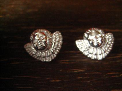 zuckersüße Ohrringe Stecker Barock Engel Putto Barockengel 925er Silber NEU