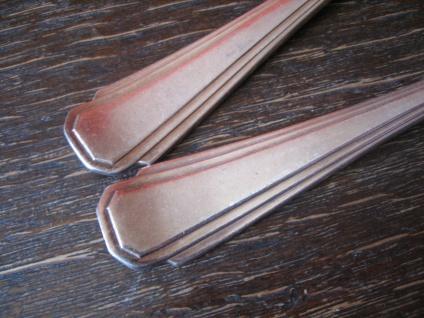 prächtiges 2teiliges Vorlegebesteck Vorlegelöffel Salatbesteck silber pl England - Vorschau 3