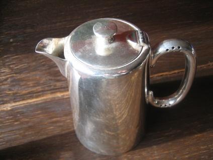 Zeitlos elegante Hotelsilber Teekanne Hot Water Pot 500 ml silber pl Sheffield - Vorschau 3