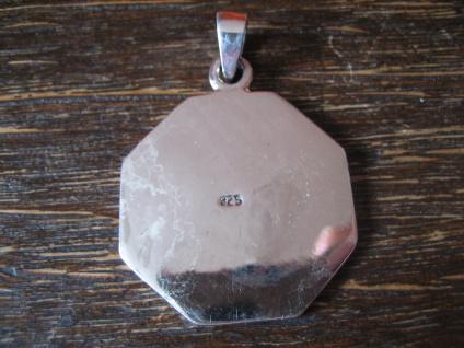 edler Anhänger Amulett keltische Distel und Harfe Lyra Leier 925er Silber neu - Vorschau 4