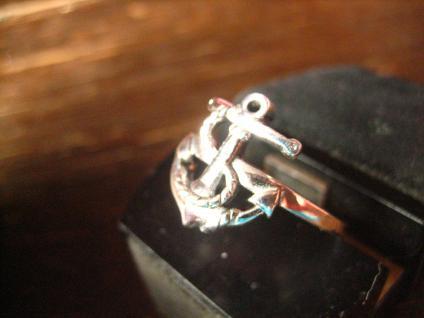 maritimer Herrenring Ring Anker für Piraten 925er Silber neu et Nox 19, 5 mm G 62 - Vorschau 2