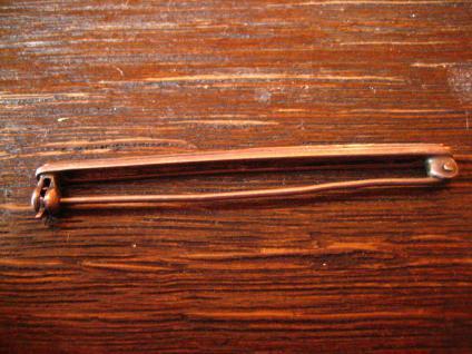 zeitlos elegante Art Deco Markasit Krawattennadel Stabnadel Brosche 835er Silber - Vorschau 4