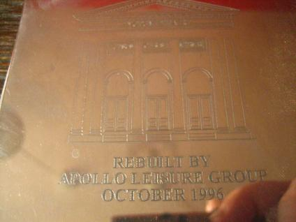 Notizblockhalter Royal Lyceum Theatre / Jesus Christ Superstar rebuilt 1996 2