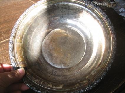 edler Art Deco Tafelaufsatz Silberschale Schale 925er Silber Alvin Sterling 258g