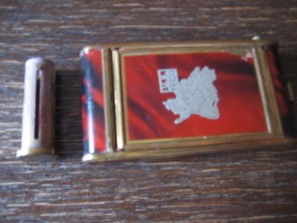 RARITÄT Dament Etui für Handtasche Spiegel Lippenstift Zigarettenetui U.S. Zone - Vorschau 5