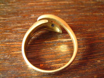 Schlangen Ring Krafttier Schlange 585er Gold 18 mm zeitlos und edel - Vorschau 5