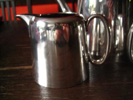 3teiliges Hotelsilber Teekanne Kaffee Zuckerdose Milchkanne silber pl Sheffield - Vorschau 2