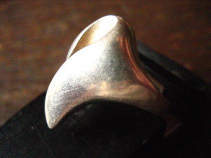 zeitlos eleganter vintage Designer Ring 925er Silber tolle Form extravagant