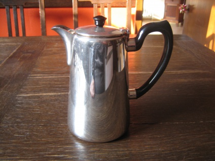 zeitlose Hotelsilber Teekanne Kaffeekanne Hot Water Pot silber pl Elkington