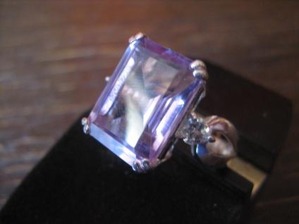 klassisch eleganter Indian Summer Topas Ring im Art Deco Stil 925er Silber RG 57