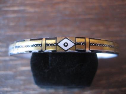 Michaela Frey Designer Armreif Emaille Modernist Vintage enamel bangle 70er Jahr