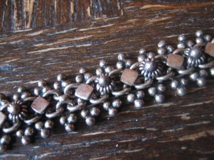 bezauberndes Trachten Dirndl Armband Solje Hochzeitsschmuck 925er Silber 18 cm - Vorschau 1