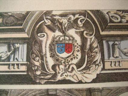 Antoine De Pluvinel Barock Reiten Bild Kupferstich colorierter Stich gerahmt 26 - Vorschau 4