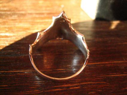 prächtiger großer Fledermaus Ring wunderschön gearbeitet 925er Silber neu et Nox - Vorschau 3