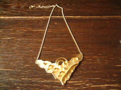 Prächtige ausgefallene Designer Vintage Collier Kette 750er Gold Auflage Unikat - Vorschau 2
