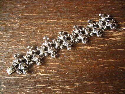 aufregendes schweres vintage Armband 835er Silber BAS Blachian Dirndl Tracht