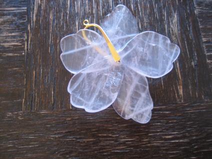 traumhaft schöne Steingravur Blume Blüte Rosa Quarz 925er Silber gold Anhänger