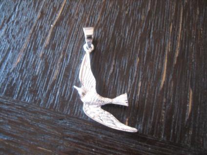 maritimer Anhänger Möwe Albatros im Flug 925er Silber neu auch für Kinder