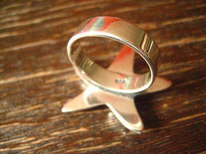 geschmackvoller maritimer Ring Damenring Seestern 925er Silber neu 19 mm RG 60 - Vorschau 4