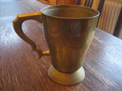 origineller großer Pub Becher tolle Form England Shabby Chic witzig als Vase