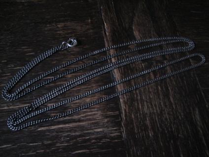 wunderschöne hochwertige Jugendstil Silberkette Kette 800er Silber 160 cm lang