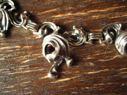 aufregendes schweres vintage Collier 835er Silber BAS Blachian Dirndl Tracht - Vorschau 2