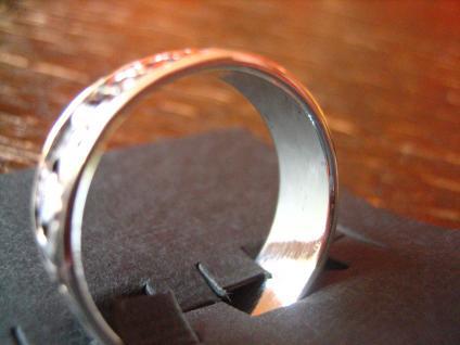 toller Claddagh Ring Herz Krone Hände Hochzeitsring 925er Silber RG 62 et Nox - Vorschau 3