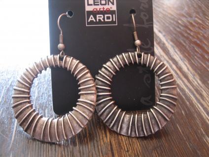 starke Statement Ohrringe Hänger Ohrhänger Creolen Designer Leonardi Arte Boho