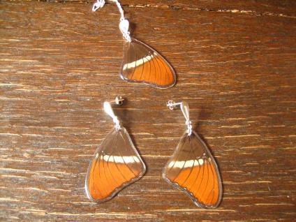 Schatz der Natur Anhänger Schmetterlingsflügel E 925er Silber Kette Eco Friendly - Vorschau 3
