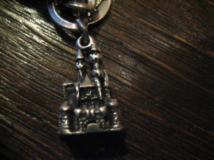 Anhänger Bettelarmband 925er Silber Disneyland Florida Walt Disney Schloss