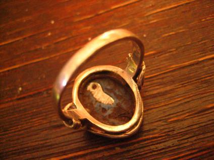 super niedlicher Pinguin Ring Native Navajo Indianerschmuck 925er Silber RG 57 - Vorschau 3