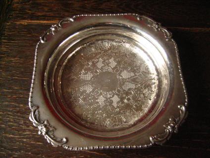 edel verzierte Schale Anbietschale Schale Brotkorb Obstschale silber p Sheffield - Vorschau 1