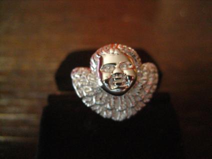 zuckersüßer Ring Barock Engel Putto Barockengel 925er Silber NEU 18, 75 mm RG 59