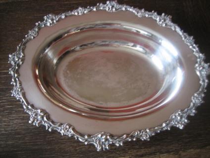 prächtiger Tafelaufsatz Silberschale Schale Obstschale silber pl Barker Ellis