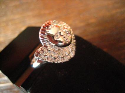 zuckersüßer Ring Barock Engel Putto Barockengel 925er Silber NEU 18, 75 mm RG 59 - Vorschau 2