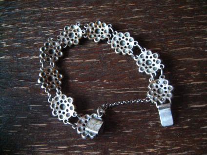 prächtiges vintage Trachtenschmuck Armband 835er Silber BAS Blachian Dirndl - Vorschau 4