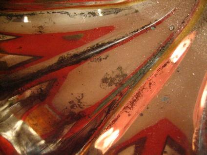 dekorative Schale Anbietschale Silberschale auf Füßen tolle Form silber pl 25 cm - Vorschau 3