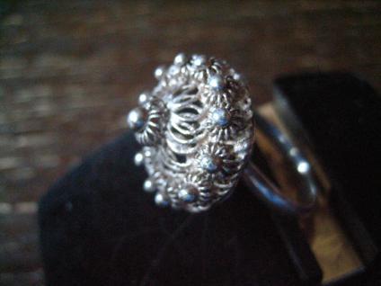 seltener skandinavischer Hochzeitsring Trachten Ring Dirndl Solje Schmuck Silber