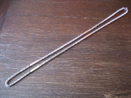 super fette Charleston Königskette Kette massiv 835er Silber 95 Gramm tolle Form
