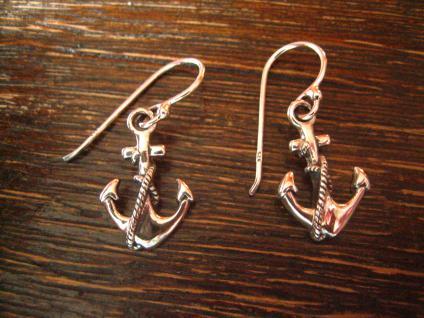 maritime Anker Ohrringe Hänger Chandeliers 925er Silber für Pirat und Seebär neu
