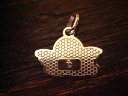 reizender Kinder Anhänger Bettelarmband Schutzengel Engel Amulett 925er Silber B - Vorschau 2