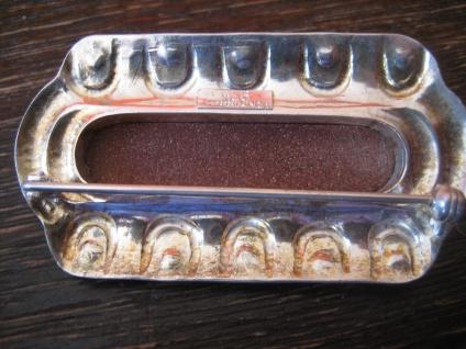 Art Deco Brosche 935er Silber Goldfluss Toni Riik Kunstgewerbliche Werkstätte - Vorschau 4