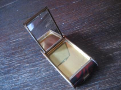 RARITÄT Dament Etui für Handtasche Spiegel Lippenstift Zigarettenetui U.S. Zone - Vorschau 3