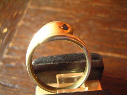 Schlangen Ring Krafttier Schlange 585er Gold 18 mm zeitlos und edel - Vorschau 3