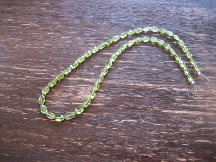 Traum in Giftgrün Unikat Collier Peridot Briolette Oliven Verschluss nach Wahl