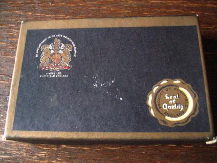6 elegante Teelöffel Kaffeelöffel kleine Löffel Viners Sheffield silver Chromoid - Vorschau 5