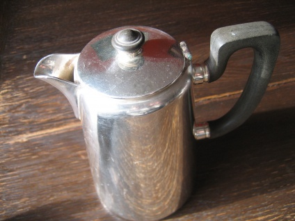 Zeitlos elegante Hotelsilber Teekanne Hot Water Pot silber pl 700 ml Elkington - Vorschau 3