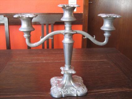 prächtiger Kerzenständer Kerzenhalter Kerzenleuchter Kandelaber PL 3-arm 3armig B - Vorschau 1