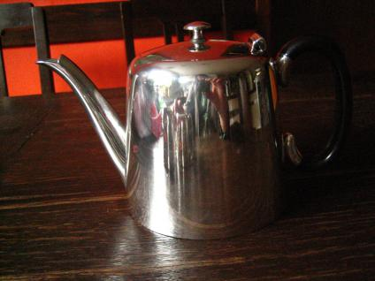 3teiliges Hotelsilber Teekanne Kaffee Zuckerdose Milchkanne silber pl Sheffield - Vorschau 4